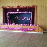 Vyzdobený sál čeká na účastníky