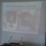 V malém sále je připraveno promítání prezentace