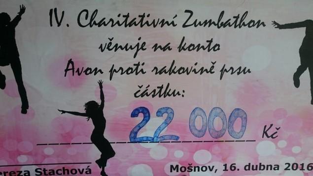 IV. ročník charitativního Zumba marathonu byl opět rekordní