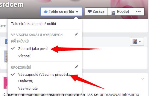Jak si nastavit stránku akce na Facebooku